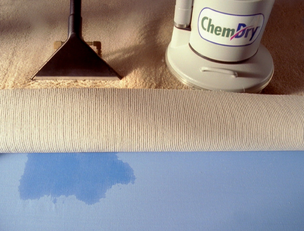 Chem-Dry uses 80% less water than steam cleaning, which conserves a precious resource and also allows carpets to dry in one or two hours instead of one or two days. The quick drying time prevents mold and mildew from gaining a toehold in homes.